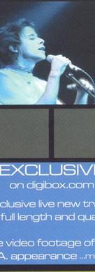 Bloodsport Live TV Advert Leaflet