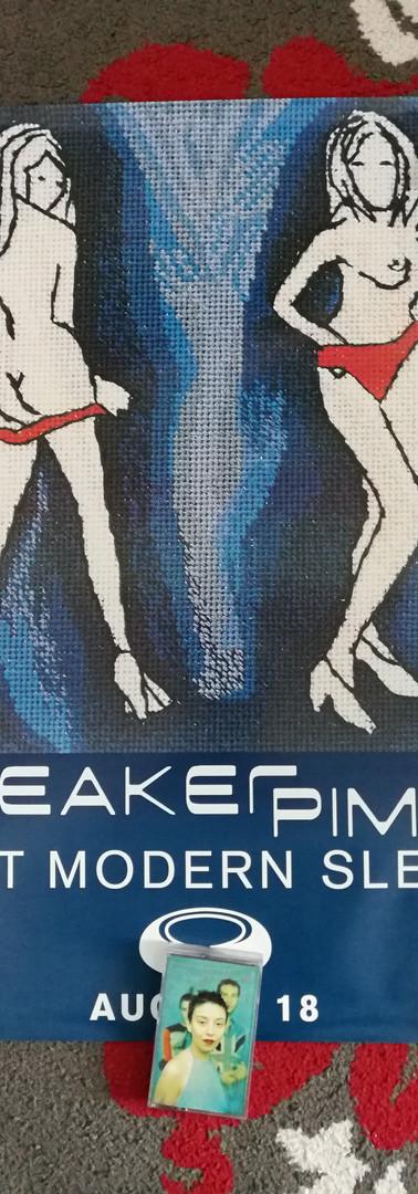 Sneaker Pimps Post-Modern Sleaze Poster