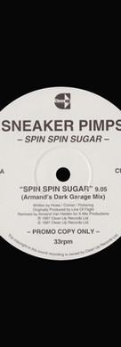Sneaker Pimps Spin Spin Sugar 12'' Single 3 Art