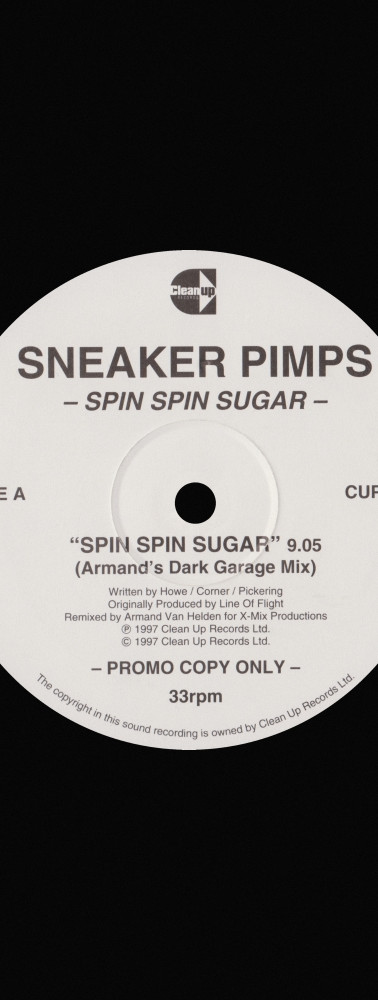 Sneaker Pimps Spin Spin Sugar 12'' Single 3 Art