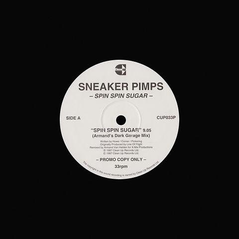 Sneaker Pimps Spin Spin Sugar 12'' Singl