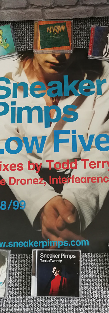 Sneaker Pimps Low Five Poster
