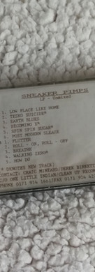 Sneaker Pimps Becoming X Demos Tape
