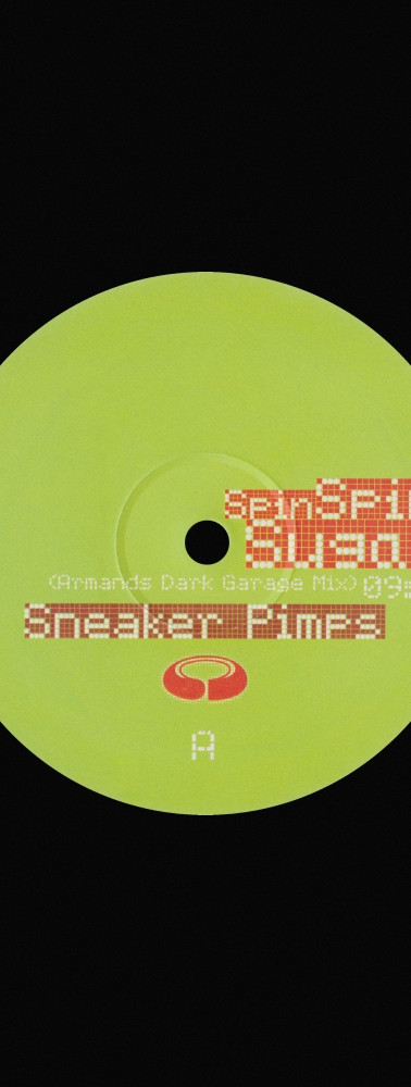 Sneaker Pimps Spin Spin Sugar 12'' Single 1 Art