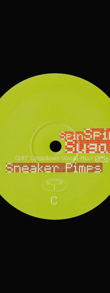 Sneaker Pimps Spin Spin Sugar 12'' Single 2 Art