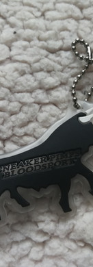 Sneaker Pimps Bloodsport Bull Keyring