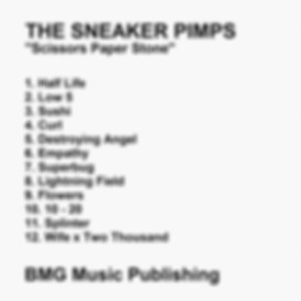 Sneaker Pimps Scissors Paper Stone