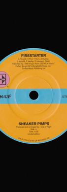 Sneaker Pimps Firestarter 7'' Single Art
