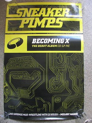 Sneaker Pimps Becoming X Poster