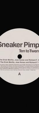 Sneaker Pimps Ten To Twenty 12'' Single 1 Art