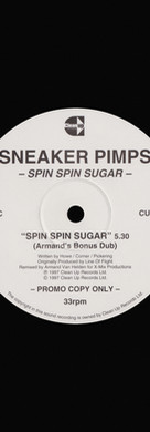 Sneaker Pimps Spin Spin Sugar 12'' Single 4 Art