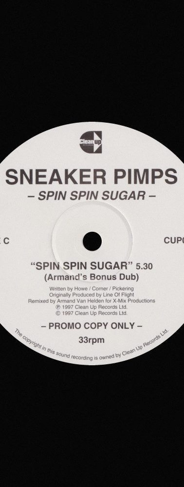 Sneaker Pimps Spin Spin Sugar 12'' Single 4 Art