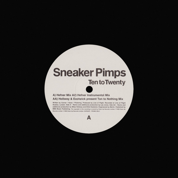 Sneaker Pimps Ten To Twenty 12'' Single