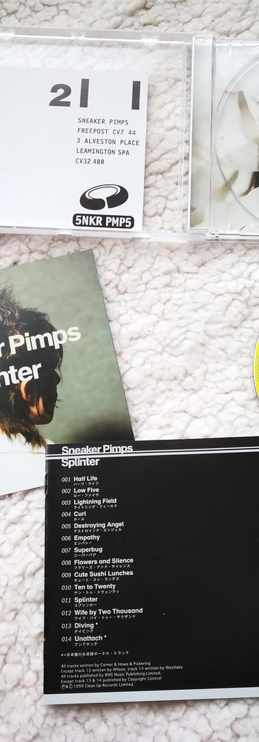 Sneaker Pimps Splinter Japanese CD
