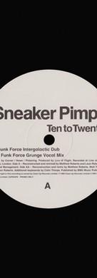 Sneaker Pimps Ten To Twenty 12'' Single 2 Art