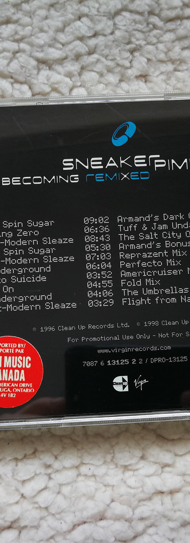 Sneaker Pimps Becoming RemiXed US CD