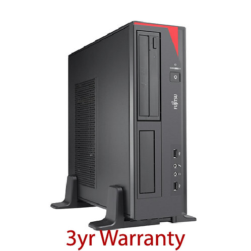 FUJITSU E420 Small Form Factor PC + 3YR Warranty