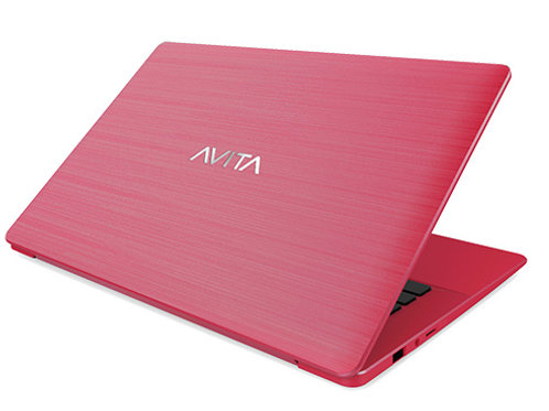 "Avita Pura 14""  AMD 5 Wind 10 Pro Sugar Red Laptop 2yr Warranty"