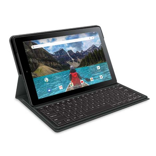 "RCA Juno 10"" Tablet 1GB/16GB Android 8.1 Detachable Keyboard"