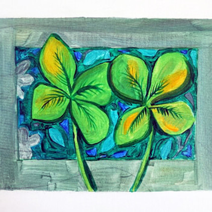 St. Patrick's Day Painting