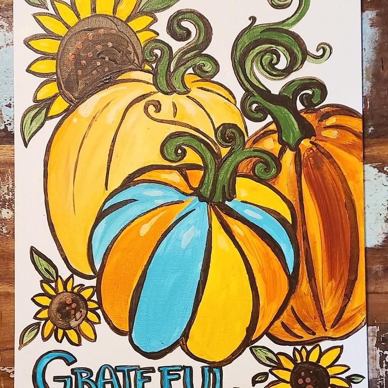 Fall Painting & Wine Tasting