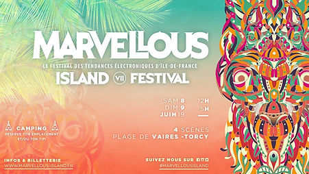 bed and smile partenaire du Marvellous Island Festival