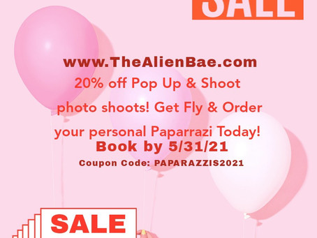 Pop Up & Shoots - Paparazzis Summer Flash Sale
