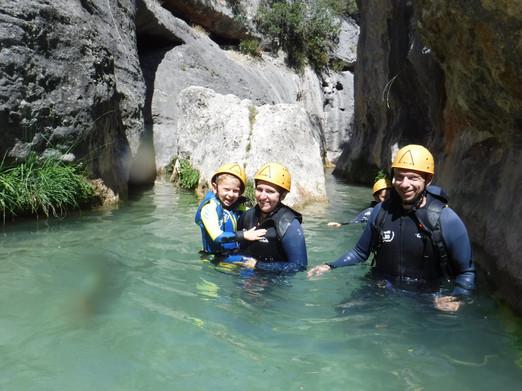 canyoning rodellar oscuros