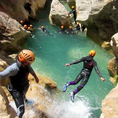sejours canyoning sierra de guara