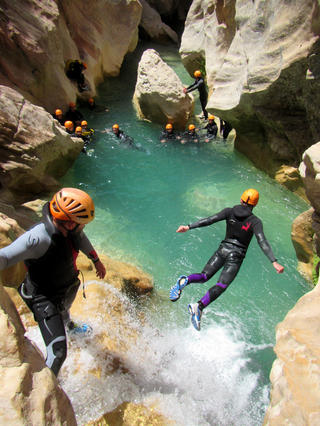 canyons sierra de guara