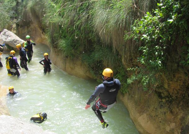 saut canyon Formiga