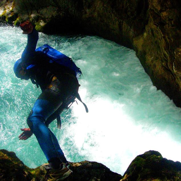 canyoning ainsa
