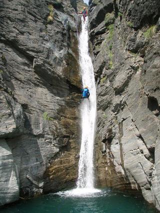 espagne canyoning