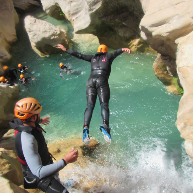 canyoning  la peonera.JPG