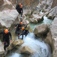 les canyons de sierra de guara