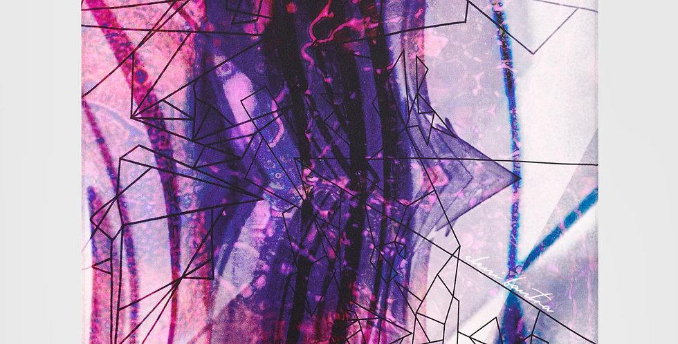 Retinal I Mini Silk Scarf|Eleni Bantra