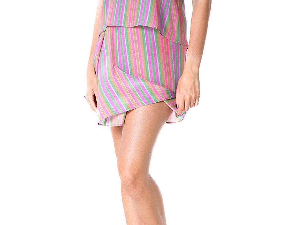Wéngko Molé Apricot Short Skirt