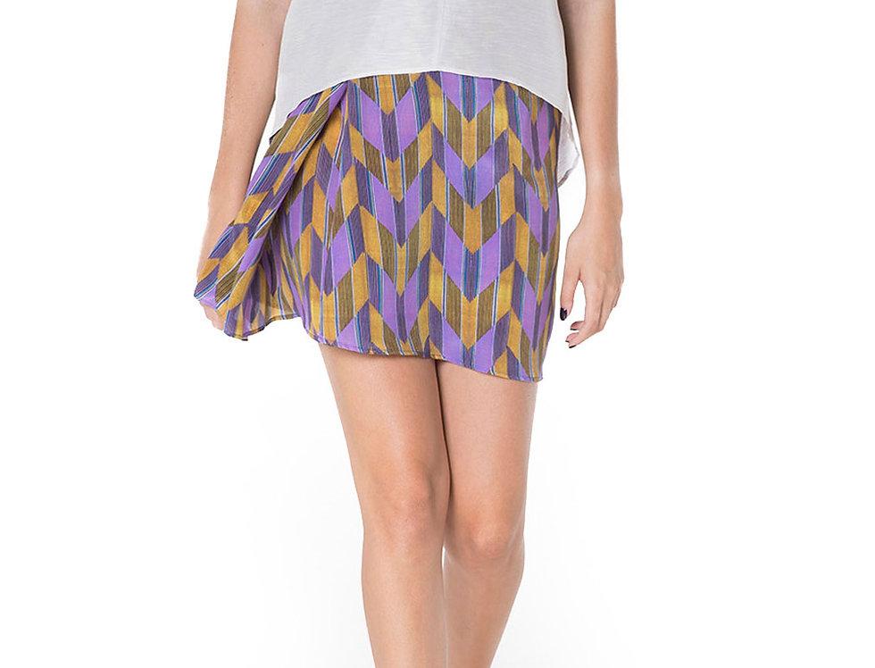 Wéngko Molé Phoenix Short Skirt