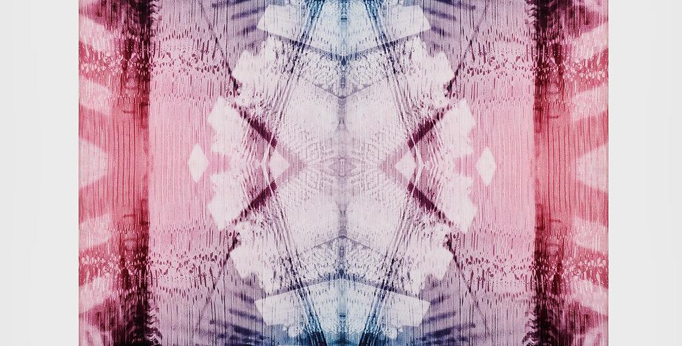Cellular III Silk Scarf|Eleni Bantra