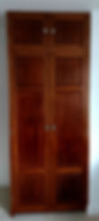 reclaimed mahogany wardrobe