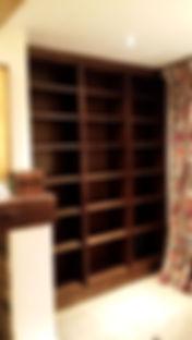 jacobean oak bookshelf