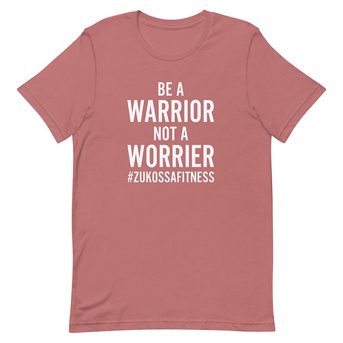 Be A Warrior Mauve Short-Sleeve Unisex T-Shirt