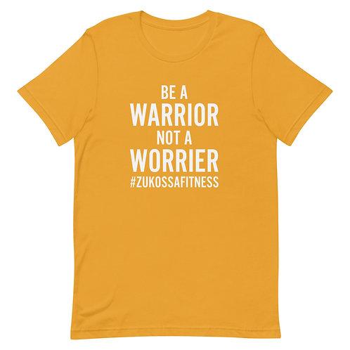 Be A Warrior Mustard Short-Sleeve Unisex T-Shirt