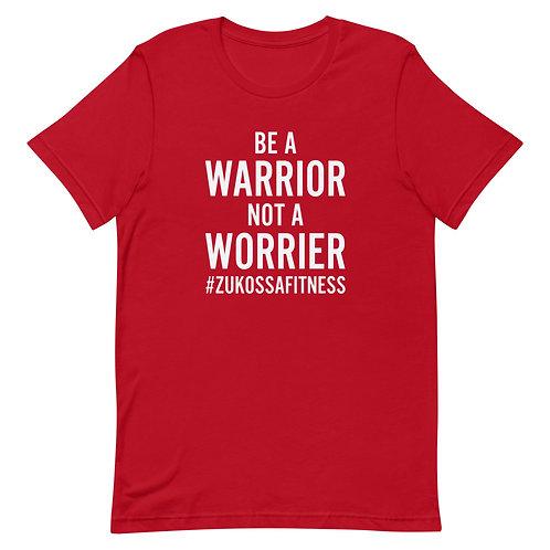 Be A Warrior Red Short-Sleeve Unisex T-Shirt