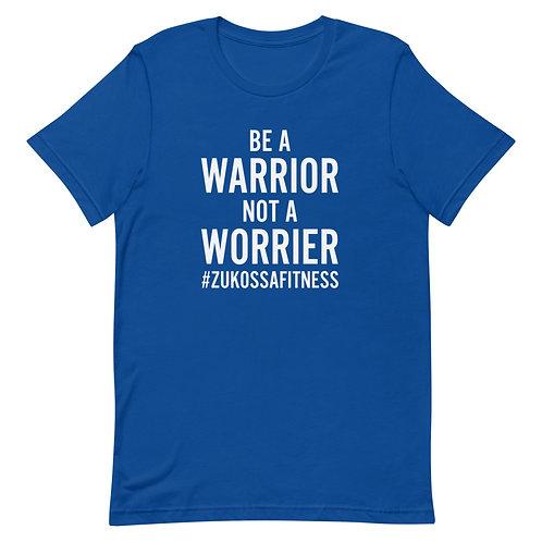 Be A Warrior Royal Blue Short-Sleeve Unisex T-Shirt
