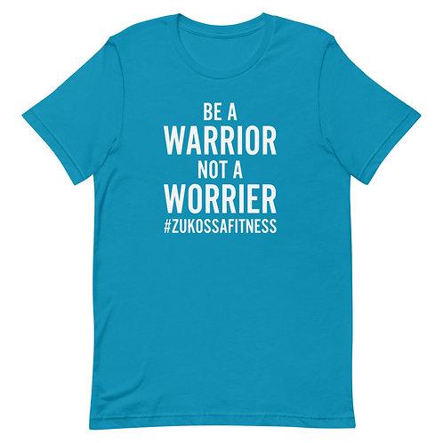 Be A Warrior Aqua Short-Sleeve Unisex T-Shirt