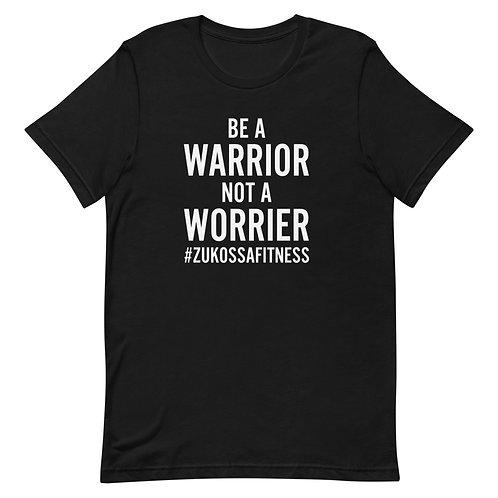 Be A Warrior Black Short-Sleeve Unisex T-Shirt