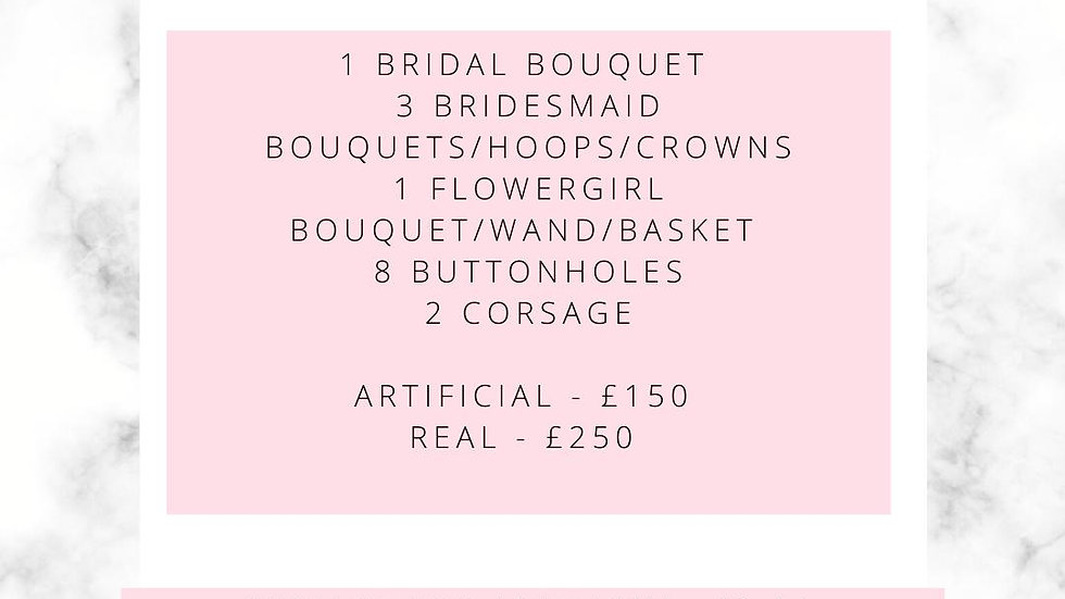 Budget Floral Package