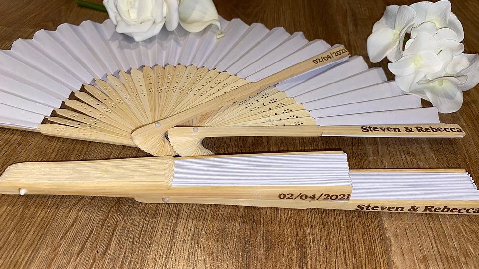 Handheld Bamboo Fans
