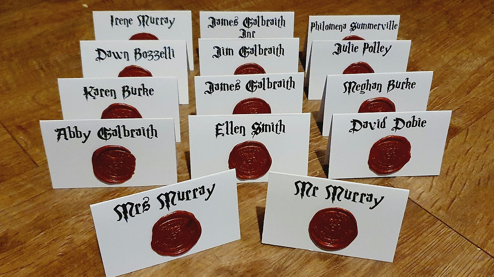 Harry Potter Inspired Place Names